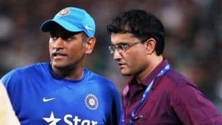 BCCI President-elect Sourav Ganguly to speak to selectors about MS Dhoni's future on October 24